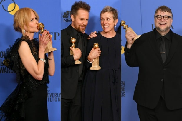 Golden Globes Winners 2018