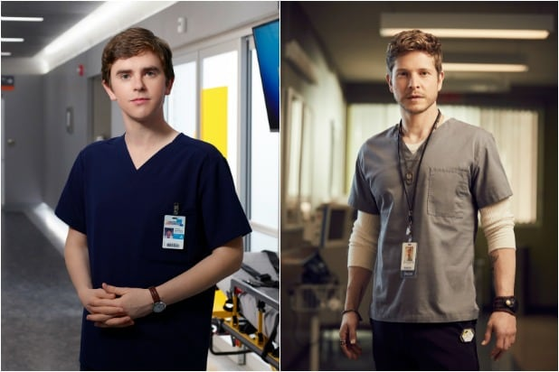 The Good Doctor' v 'The Resident': The Tale of the Tape (Infographic)