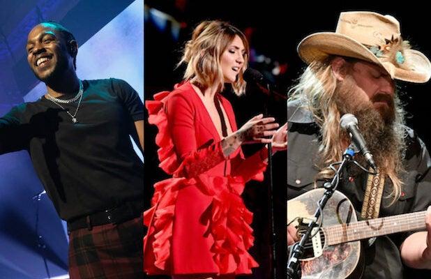 Grammys Kendrick Lamar Julia Michaels Chris Stapleton