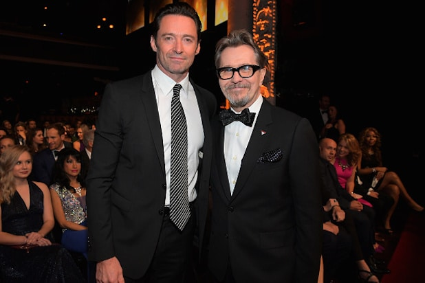 Hugh Jackman and Gary Oldman/