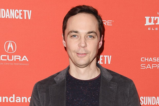 Big Bang Theory' Stars Jim Parsons and Kaley Cuoco Behind