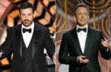 Jimmy Kimmel Oscars Seth Meyers Golden Globes