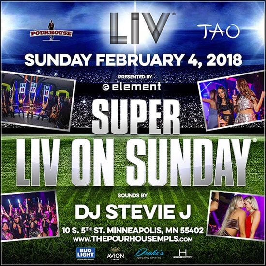 LIV on Sunday Minneapolis Big Game