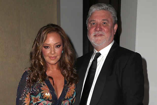 Leah Remini and Mike Rinder