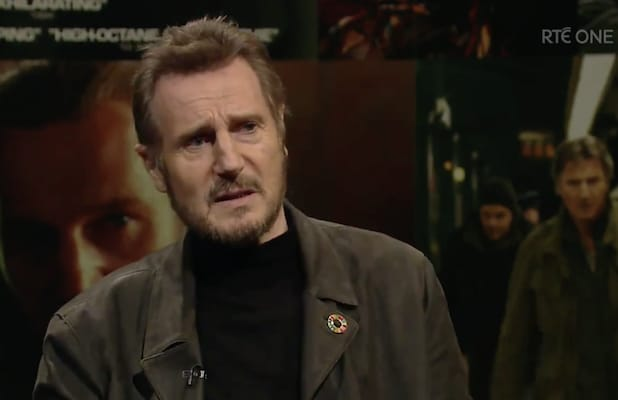 Liam Neeson Witch Hunt Dustin Hoffman Men in Black