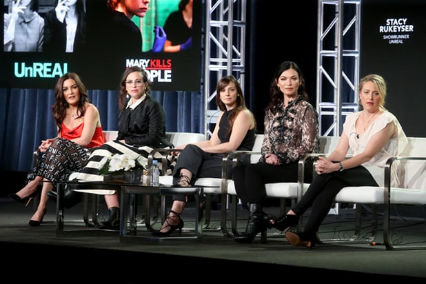 Lifetime showrunner TCA
