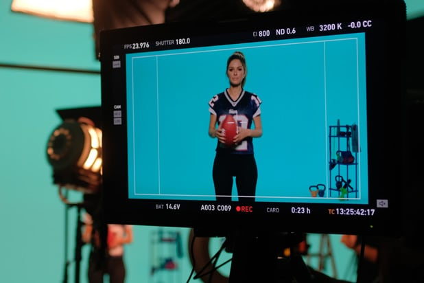 Maria Menounos Is StubHub's Super Bowl LII Quarterback (Video)