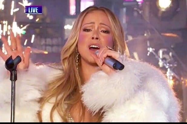 Mariah Carey New Year's Rockin' Eve 2017