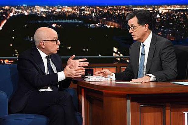 Michael Wolff Stephen Colbert