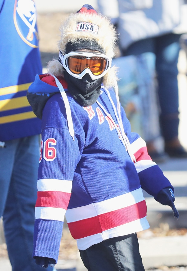 NHL Winter Classic Fan