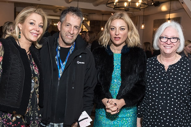 Nadja Swarovski, Kenneth Cole, Lucy Walker and UCLA TFT Dean Teri Schwartz
