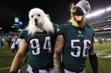 Philadelphia Eagles Beau Allen and Chris Long