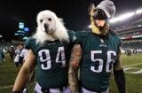 Philadelphia Eagles Beau Allen and Chris Long