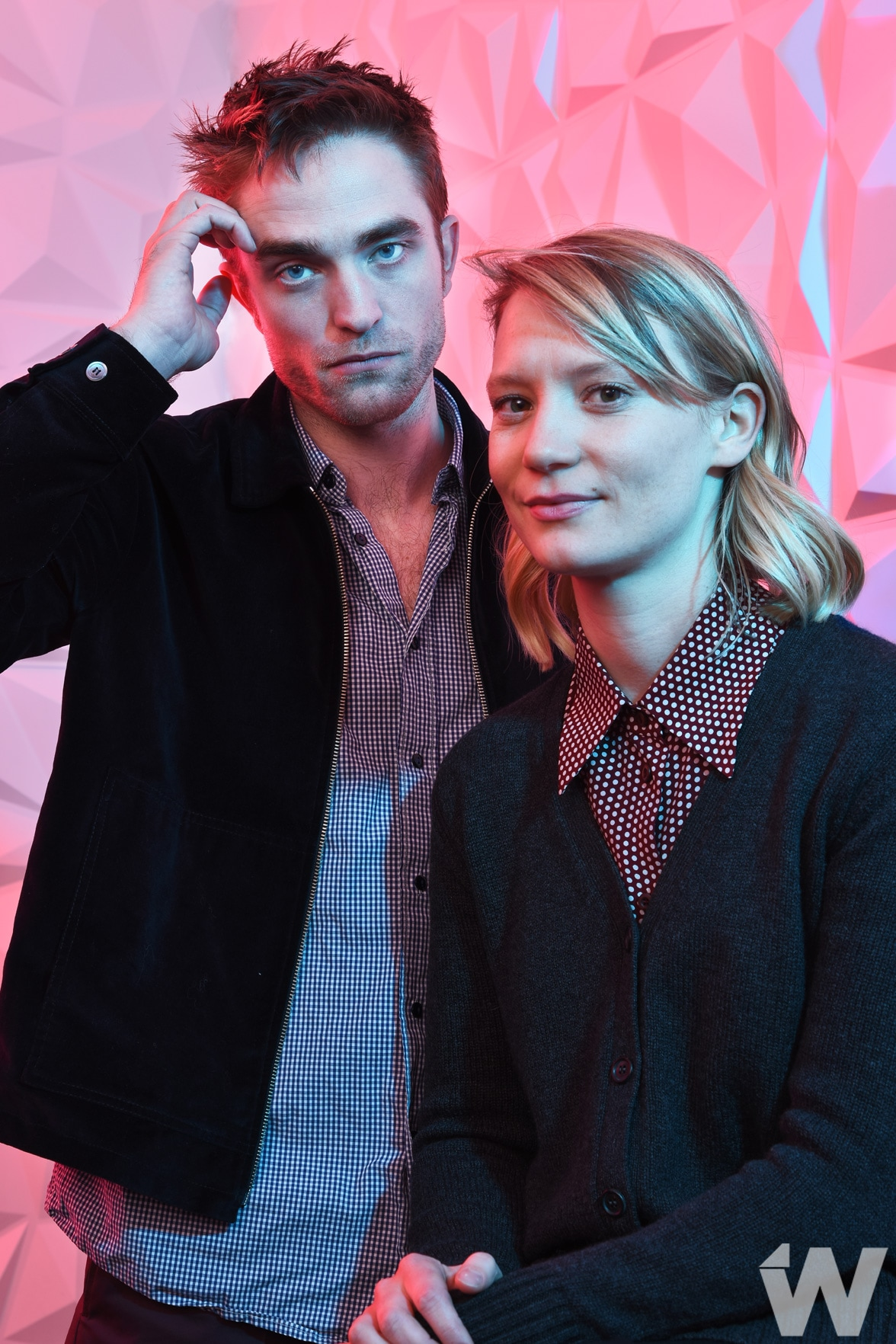 ROBERT PATTINSON AND MIA WASIKOWSKA Damsel