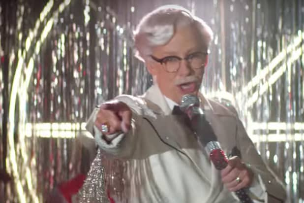 Image result for KFC Finally Has a Female Colonel Sanders, and It's Reba McEntire