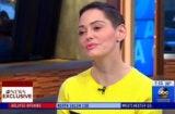 Rose McGowan GMA Weinstein