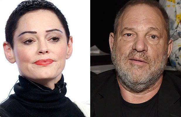 Rose McGowan Harvey Weinstein