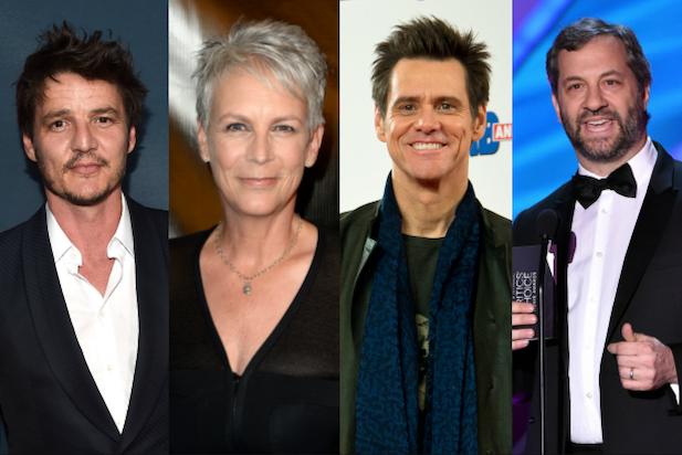 Jim Carrey, Jamie Lee Curtis, Judd Apatow, Pedro Pascal