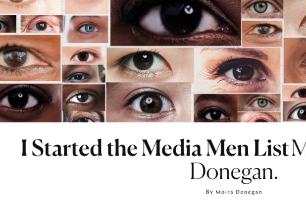 Woman who started the 's****y media men' list outs herself