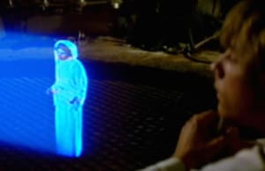 Star Wars Princess Leia Hologram