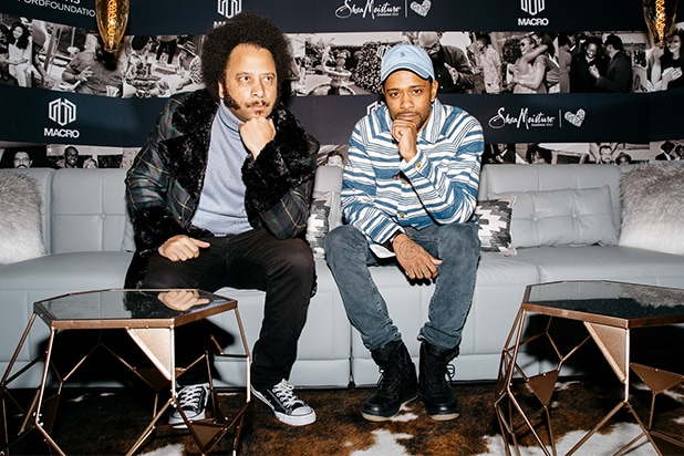 Director Boots Riley and Lakeith Stanfield at The MACRO Lodge presented by Shea Moisture.jpg