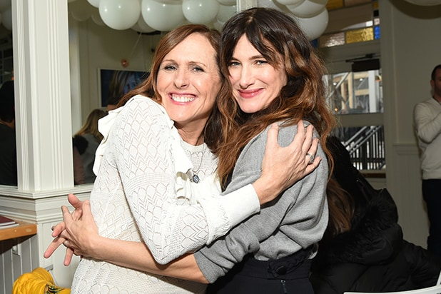 Molly Shannon x Kathryn Hahn at DIRECTV Lodge presented by AT&T