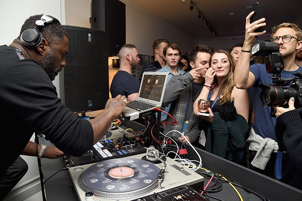 Idris Elba DJ at Yardie Party - Grey Goose - Kovac