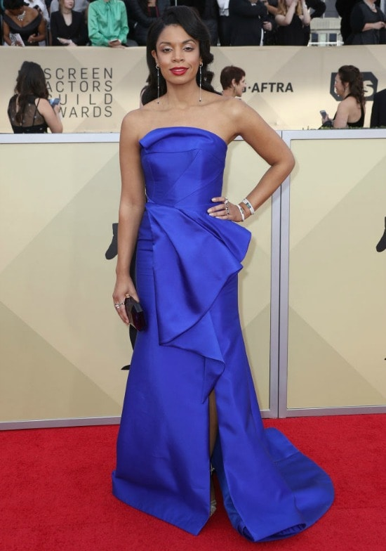 Susan Kelechi Watson sag awards red carpet