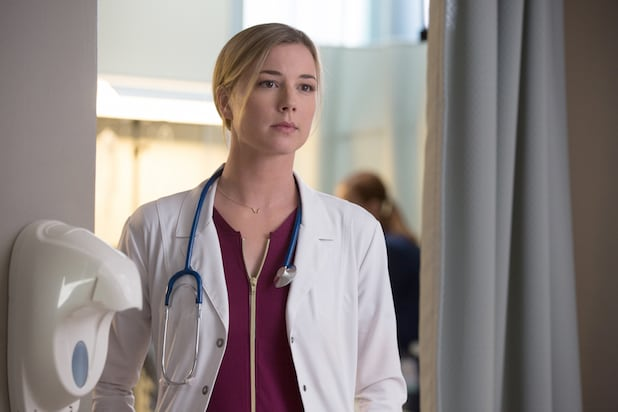The Resident's Emily VanCamp on 'Bizarre' Timing of Sexual