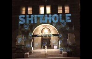 Trump DC Hotel Shithole