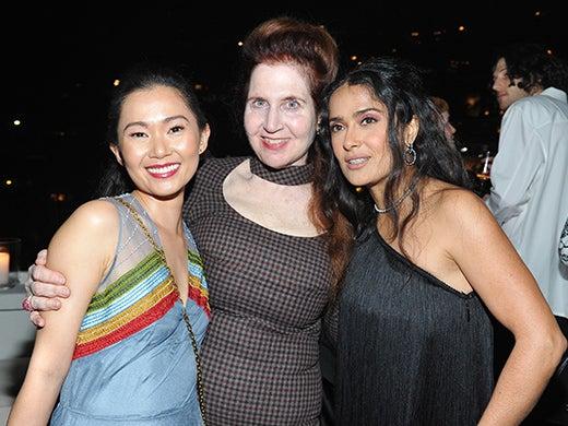 Hong Chau, Lynn Hirschberg, Salma Hayek