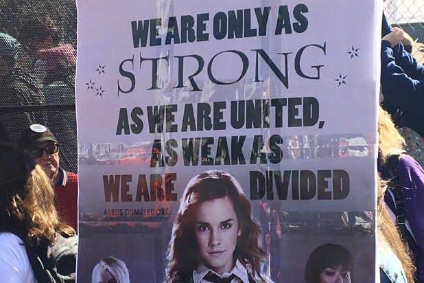 Womens March Los Angeles 2018 Sign