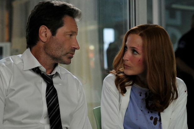 X Files David Duchovny Gillian Anderson