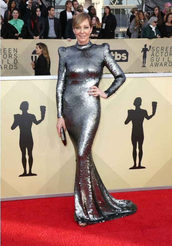 allison janney sag awards red carpet