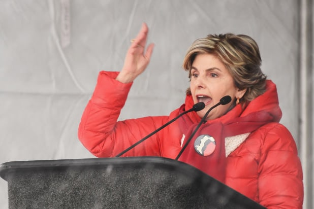 gloria allred women respect rally sundance