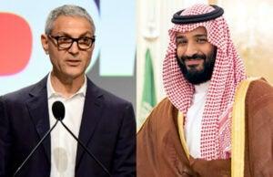 ari emanuel prince muhammed bin salman endeavor