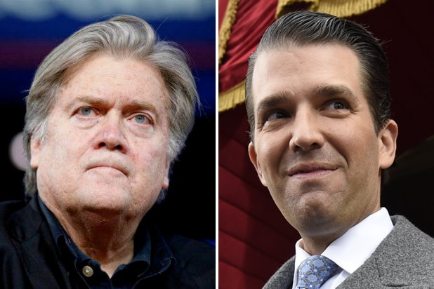 steve bannon donald trump jr.v
