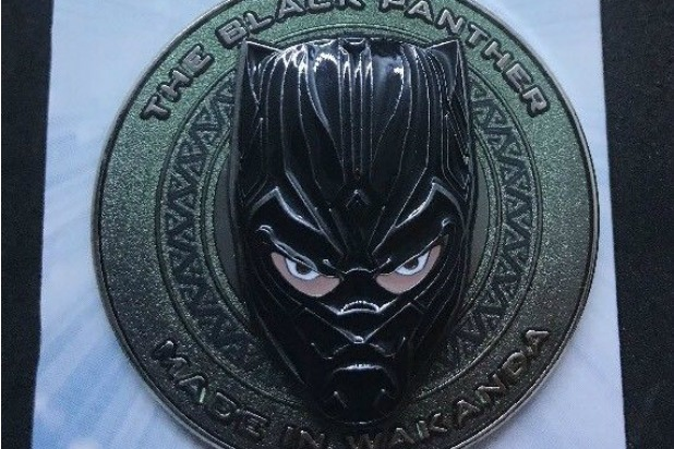 black panther pin ebay