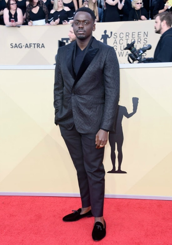 daniel kaluuya sag awards red carpet