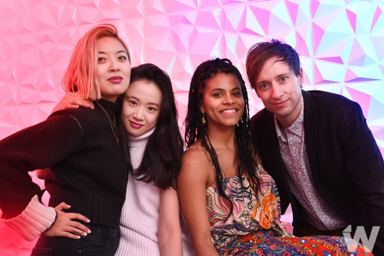 Dead Pigs Cathy Yan, Li Meng, Zazie Beetz, and David Rhysdahl