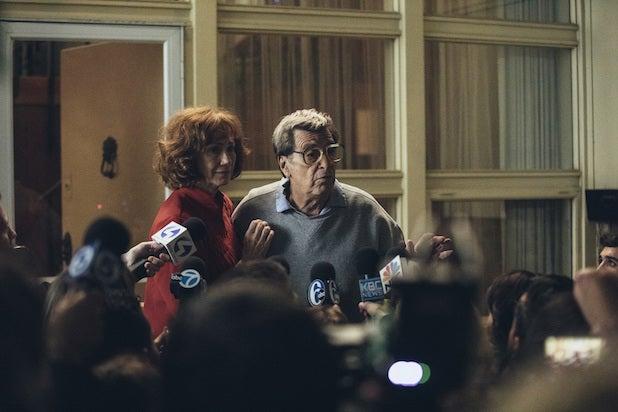 Kathy Baker, Al Pacino Paterno HBO