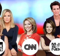cnn women female anchor msbnc fox news