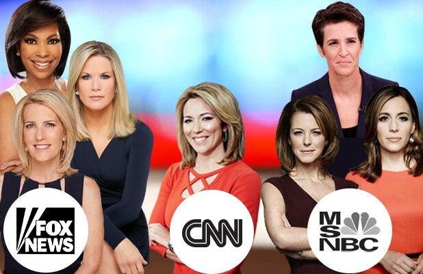 cnn women female anchor msbnc fox news