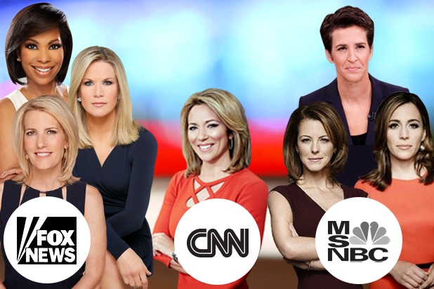 CNN Lags Behind Fox News, MSNBC in Female Representation On-Air