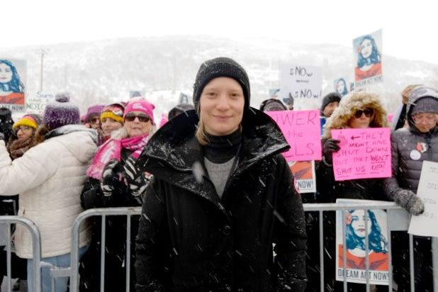 mia wasikowska sundance women respect rally