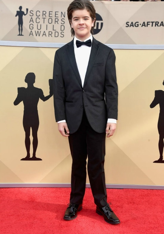 sag awards red carpet gaten materazzo