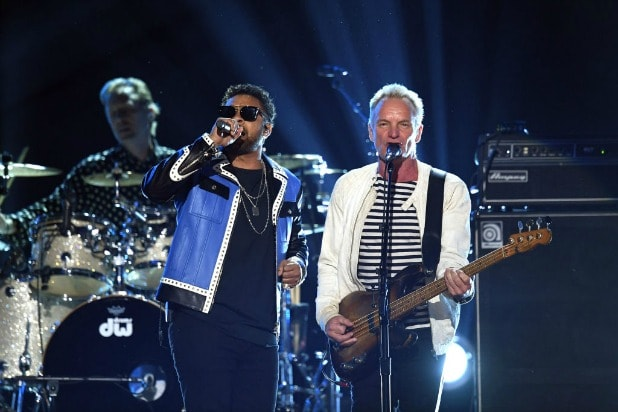shaggy and sting grammys