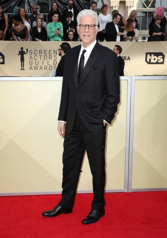 ted danson sag awards red carpet