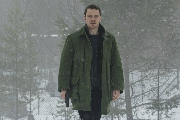 Michael Fassbender as Harry Hole in 'The Snowman'