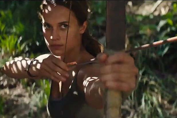 Alicia Vikander leads the Tomb Raider reboot
